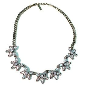 SUGARFIX by BaubleBar Floral Crystal Necklace